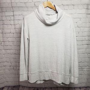 Gap Cream Cowl Neck Sweater Tunic basic loungewear